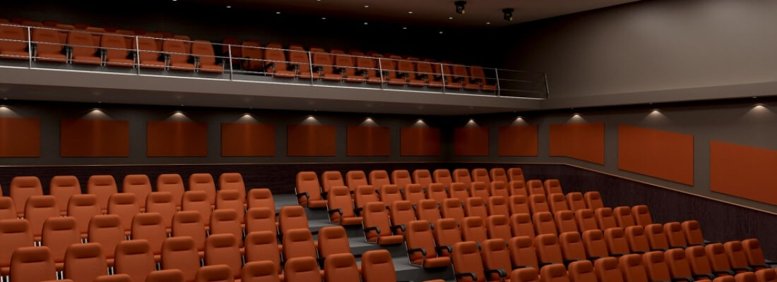 Panneaux acoustiques - Acoustic Panels - Auditorium - Rampart