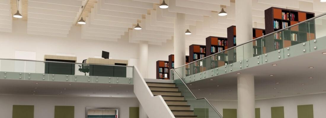 Panneaux acoustiques - Acoustic Panels - Bibliothèque - Library
