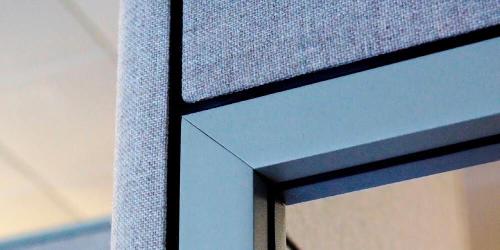 Systèmes de cloisons - Panel systems - Cubicules - Cubicles - Variations - Rampart - Partitions-402