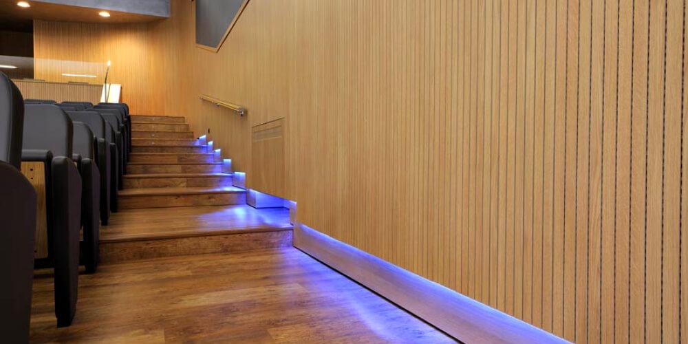 Acoustic Panels Panneaux acoustiques Fantoni_theater light