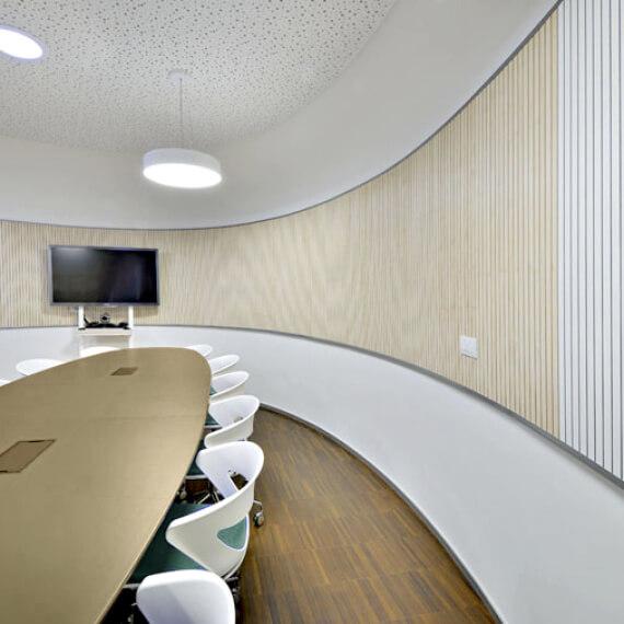 Acoustic Panels Panneaux acoustiques Fantoni_MPF5948_Tan Table